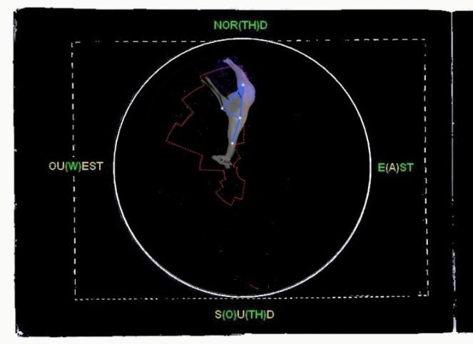 circum-seules-et-perso-et-girafa-isolee-colore-cercle-constell-isolere-et-lines-et-girafe